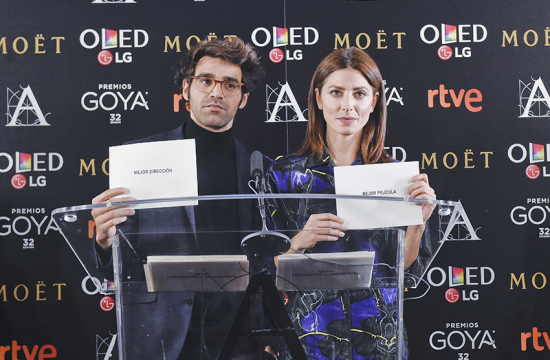 Sílvia Abril y Andreu Buenafuente repiten como presentadores de los Premios Goya